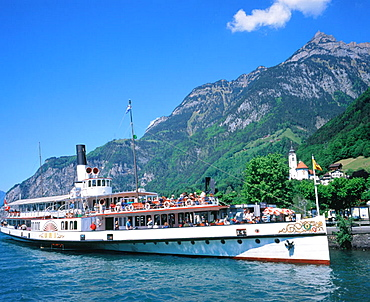 Lake Lucerne, Luzern, Switzerland