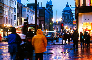 Donegal Square, Belfast, Northern Ireland
