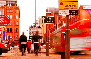 Victoria Street, Belfast, Northern Ireland