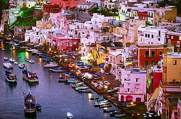 Corricella, Procida Island, Campania, Italy