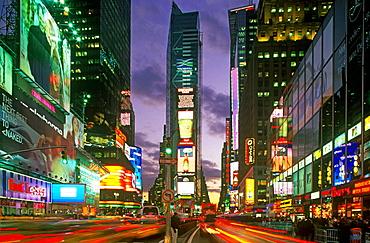 Times Square, midtown Manhattan, New York City, USA