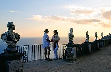Terrazza dell Infinito (Terrace of Infinity), Villa Cimbrone, Ravello, Italy