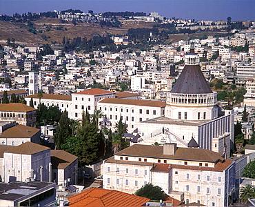 Basilica of the annunciation, Nazareth, Israel.