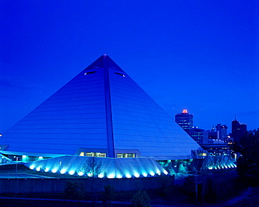 Pyramid arena, Memphis, Tennessee, USA.