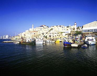 Old port, Jaffa, Israel.