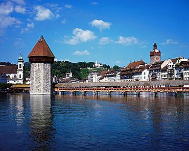 Kapellbrucke, Luzern, Switzerland
