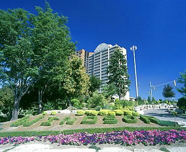 owindsoro sign, Dieppe gardens, Windsor, Ontario, Canada.