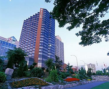 Hotels, Dieppe gardens, Windsor, Ontario, Canada.