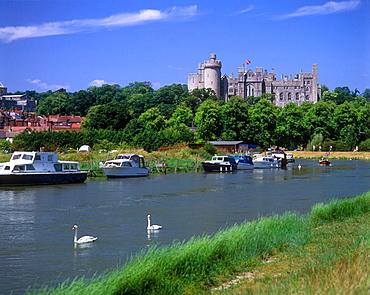 Arundel castle, West Sussex, England, UK