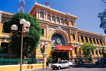 Central Post Office, designed by Gustave Eiffel, Ho Chi Minh City, Vietnam