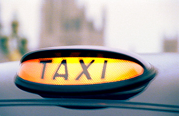 Taxi, London, England