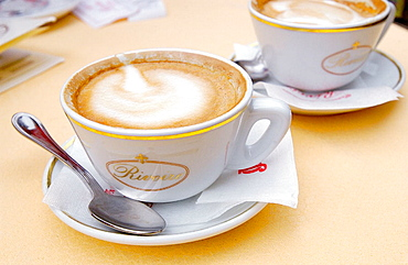 Cappuccino, Florence, Tuscany, Italy