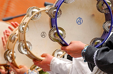 Basque folklore, Fiestas de la Cruz, Legazpi, Gipuzcoa, Basque Country, Spain
