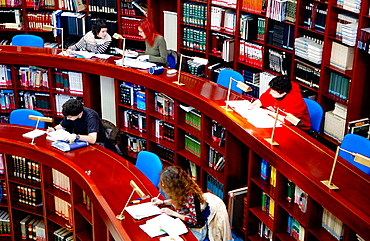 Library, Universidad del Pais Vasco (UPV/EHU), Gipuzkoa Campus, Donostia-San Sebastian, Euskadi.