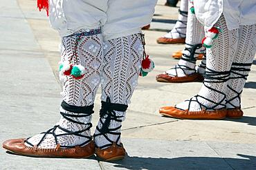 Espatadantza Dance, Basque folklore, Legazpi, Gipuzkoa, Euskadi, Spain.
