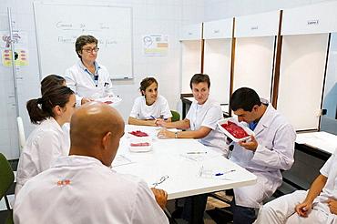 Sensor Laboratory, Sensor analysis, Meat products taste, AZTI-Tecnalia, Technological Centre specialised in Marine and Food Research, Sukarrieta, Bizkaia, Euskadi, Spain.