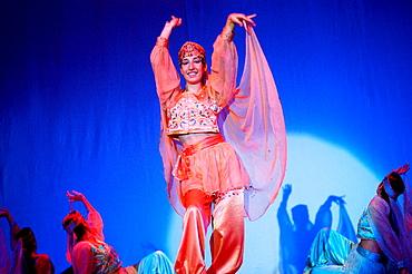 Belly dancer, Istanbul, Turkey