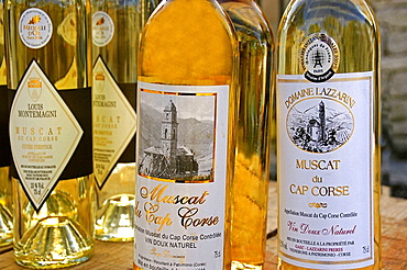'Muscat du Cap Corse', a natural sweet wine from Cap Corse and Patrimonio wine area, Corcica, France