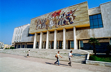 National Museum of History, Skanderberg Square, Tirana, Albania