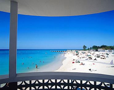 Doctor's Cave Beach, Montego bay, Jamaica (Caribbean)