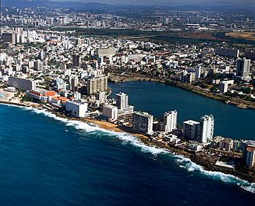 El Condado, San Juan, Puerto Rico Island, Caribbean.