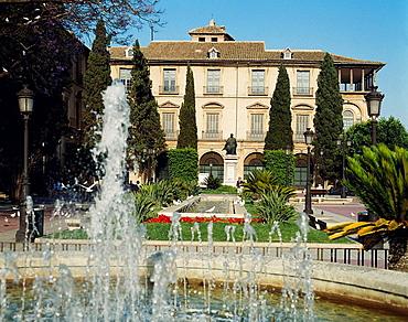 Episcopal Palace in Glorieta de Espana, Murcia, Spain