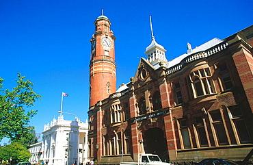 Queen-Anne style redbrick Post Office building, Launceston, Australia