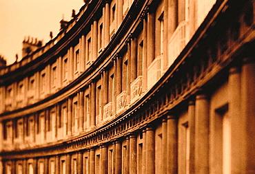 Royal Crescent, Bath, England, UK