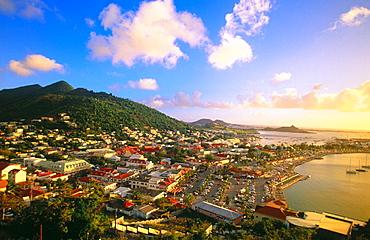 Marigot, Saint Martin, Department of Guadeloupe, Frech West Indies
