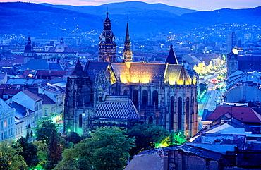 Saint Elizabeth Cathedral in Kosice, East Slovakia