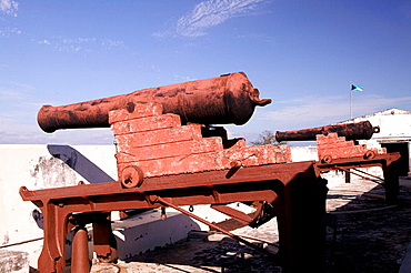 Bahamas, New Providence Island, Nassau: Fort Charlotte (b.1790) and Clifford Park Cannons of the Fort