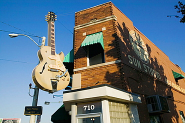 Sun Studios- Site of the first recording of Elvis Presley, Memphis, Tennessee, USA.