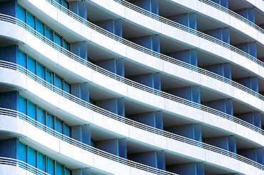 AUSTRALIA - Queensland - Brisbane: Southbank District -  Building detail of Rydges Hotel on Grey Street