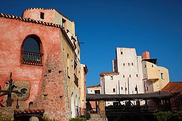 Italy, Sardinia, Costa Smeralda, Porto Cervo area, Cala di Volpe luxury hotel