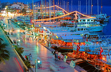 Resort town of Marmaris, Turkey