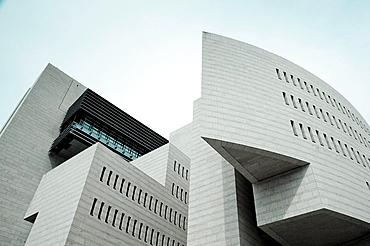Italy, Lombardy, Lake Lugano, Campione D'Italia, Casino di Campione, Mario Botta, architect