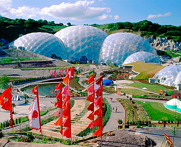 4Eden Project, Cornwall, England