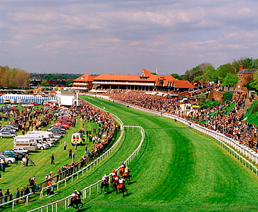 Chester races courses, Chester, Cheshire, England