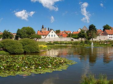 Almedalen Park, Visby, Gotland, Sweden