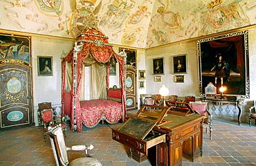 Masino Castle, Piedmont, Italy
