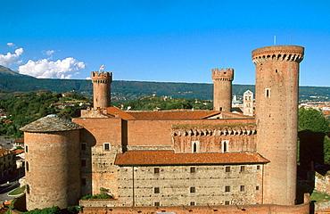 The castle, Ivrea, Piedmont, Italy