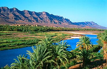 Oued Draa, High Atlas, Morocco