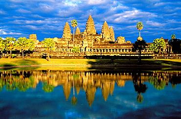 Temple complex of Angkor Wat, Angkor, Cambodia