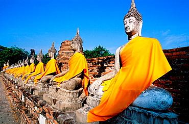 Wat Yai Chai Mongkon, Phra Nakhon Si Ayutthaya Historical Park, Thailand