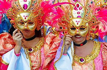 Spain, Canary islands, Tenerife, Carnival of Santa Cruz de Tenerife.
