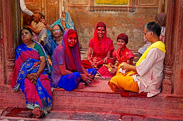 India, Holi festival, color and spring festival. - 817-97915