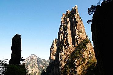 China, Anhui province, national park of Huangshan (Mount Huang) mountain