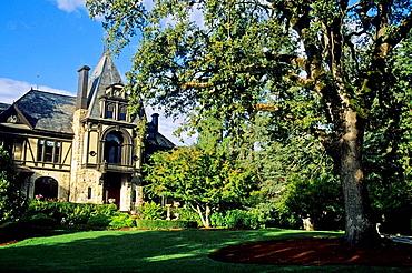 Victorian Mansion at Beringer c1883 St Helena, Napa Valley, Napa County, California, USA