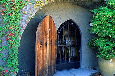 Wine Cave, Schug Winery, Sonoma Valley, Sonoma County, California