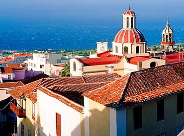 Concepcion Cathedral in La Orotava, Tenerife Island, Canary Islands, Spain